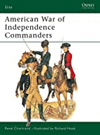American War of Independence Commanders by…