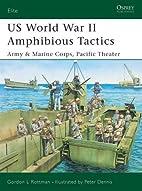 US World War II Amphibious Tactics, Army and…