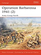 Operation Barbarossa 1941 (2), Army Group…