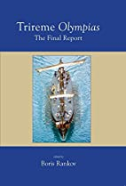 Trireme Olympias: The Final Report by N. B.…