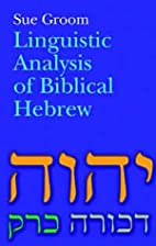 Linguistic Analysis of Biblical Hebrew by…