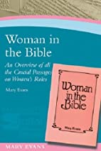 Woman In The Bible/ P.d.l. by Evans Mary J.