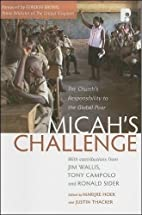 Micah's Challenge: The Church's…