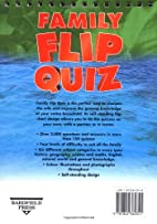 Family flip quiz / [questions and answers…