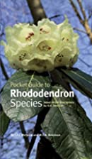 Pocket guide to rhododendron species by J.…