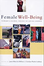 Female Well-Being: Towards a Global Theory…