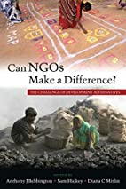 Can NGOs Make a Difference?: The Challenge…