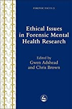 Ethical Issues in Forensic Mental Health…