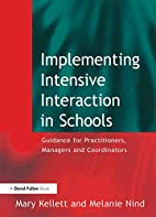 Implementing Intensive Interaction in…