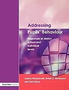 Addressing Pupil's Behaviour Responses at…