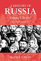 A History of Russia, Vol. 1: To 1917 (Anthem…
