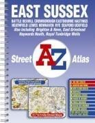 A-Z East Sussex Street Atlas (Street Maps &…