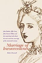 Marriage of Inconvenience by Robert Brownell