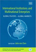 International Institutions And Multinational…