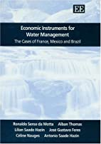 Economic Instruments For Water Management:…