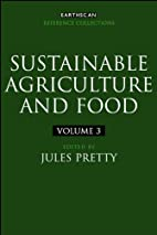 Sustainable Agriculture and Food: Four…