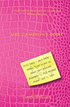 Mrs Cameron's Diary by Catherine Bennett