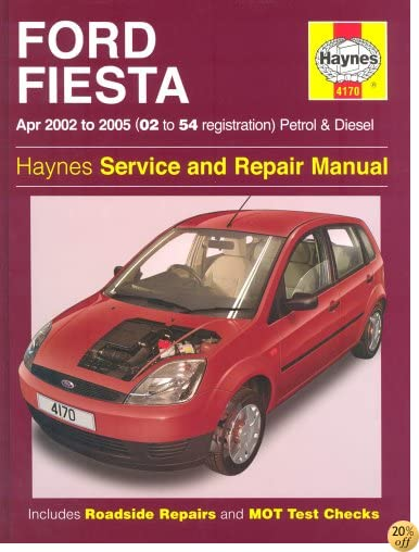 Ford Fiesta Petrol and Diesel Service and Repair Manual: 2002 to 2005 (Haynes Service and Repair Manuals)