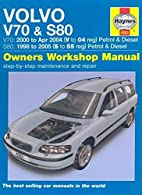 Volvo V70 and S80 Petrol and Diesel Service…