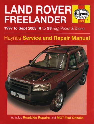 land-rover-freelander-petrol-diesel-service-repair-manual-1997-to-2003-haynes-service-and-repair-manual-series