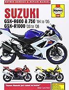 Suzuki Gsx-R600 and 750 (04-05) Gsx-R1000…