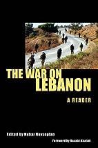 War on Lebanon by Nubar Hovsepian