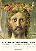 Medieval philosophy of religion by Graham…