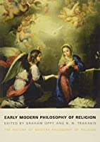 Early Modern Philosophy of Religion: The…