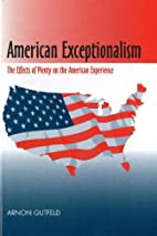 American Exceptionalism: The Effects of…