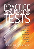 Practice Psychometric Tests by Andrea…