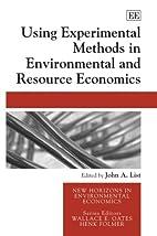 Using Experimental Methods in Environmental…