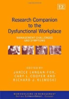 Research Companion to the Dysfunctional…