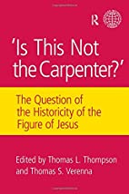 Is this not the Carpenter? : the question…