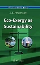 Eco-Exergy as Sustainability (The…