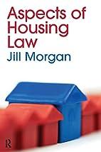 Housing Law 2/e by Derek Morgan