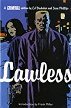 Criminal, Vol. 2: Lawless by Ed Brubaker