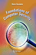 Foundations of Computer Security by David…