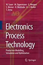 Electronics Process Technology: Production…