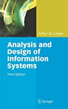 Analysis and Design of Information Systems…