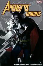 Avengers Origins (Panini) by Roberto…