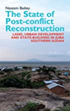 The State of Post-conflict Reconstruction…