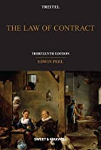 The law of contract by Edwin Peel