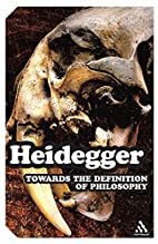 Towards the definition of philosophy [Zur…