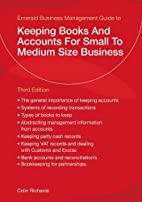 Keeping Books and Accounts for Small to…