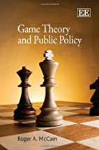 Game Theory and Public Policy by Roger A.…