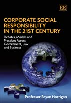 Corporate Social Responsibility in the 21st…