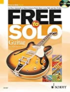 Free to Solo Guitar by Paul Harvey