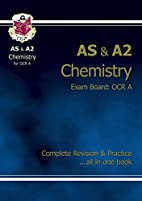 AS & A2 Chemistry OCR A: Complete Revision &…