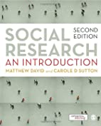Social Research: An Introduction (2nd ed.)…