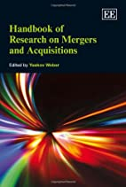 Handbook of Research on Mergers and…
